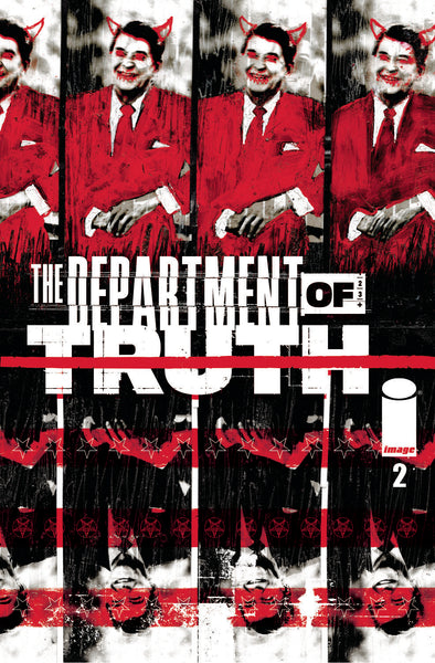 DEPARTMENT OF TRUTH #2 CVR A SIMMONDS, Image Comics (2020)