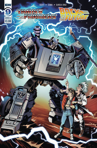 TRANSFORMERS BACK TO FUTURE #1 (OF 4) CVR A, IDW (2020)