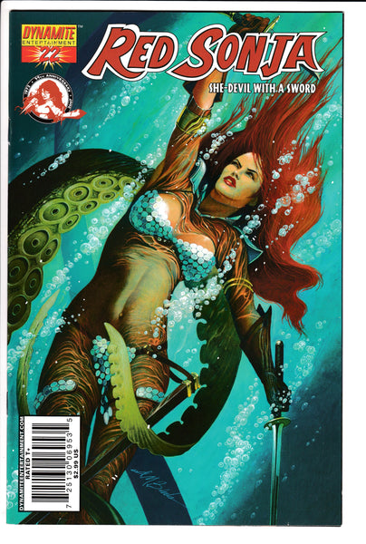 RED SONJA #22 (Volume 4), BECK COVER, Dynamite (2007)