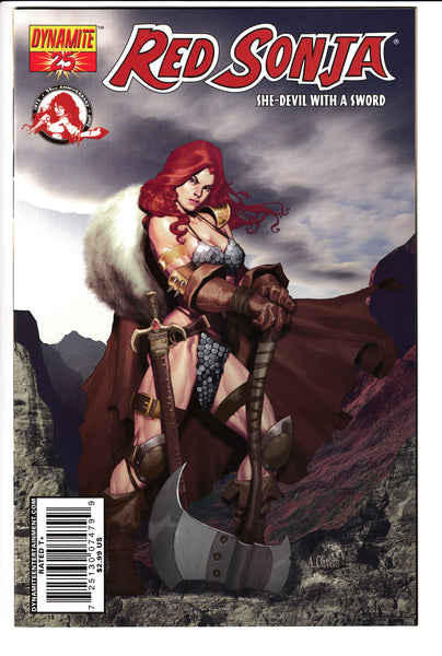 RED SONJA #25 (Volume 4), OLIVETTI COVER, Dynamite (2007)