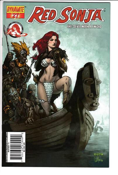 RED SONJA #27 (Volume 4), RUBI COVER, Dynamite (2007)