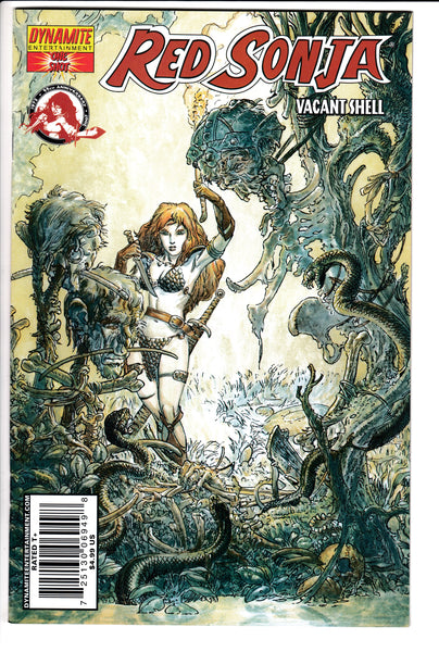 RED SONJA: VACANT SHELL, ONE-SHOT, KALUTA COVER, Dynamite (2007)