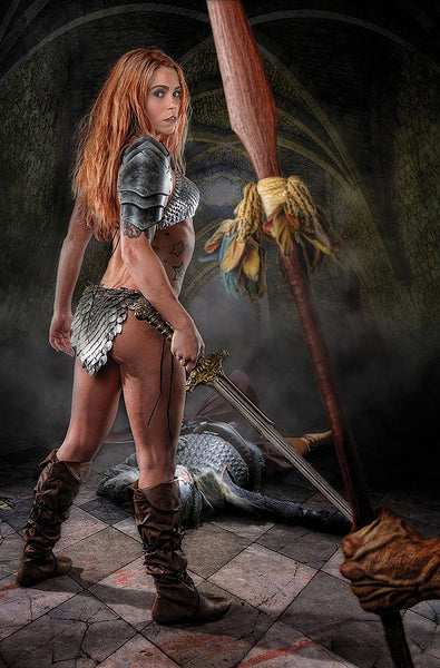 RED SONJA PRICE OF BLOOD #3 COSPLAY 1:20 VIRGIN VARIANT