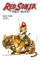 RED SONJA PRICE OF BLOOD #3 CGC GRADED SUYDAM PRE-ORDER 07/04/2021