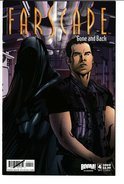 FARSCAPE: GONE AND BACK #4 (OF 4), COVER B, VF/NM, BOOM! (2009)