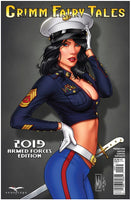 GFT 2019 ARMED FORCES APPRECIATION, COVER C DIPASCALE, Zenescope (2019)