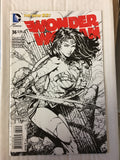 WONDER WOMAN #36, FINCH 1:25 B&W VARIANT, DC Comics (2014)