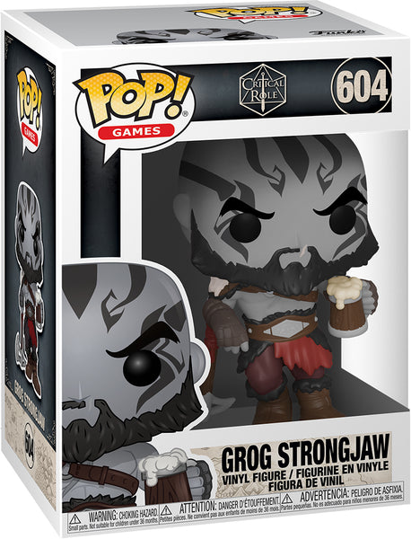 POP GAMES VOX MACHINA GROG STRONGJAW VINYL FIGURE