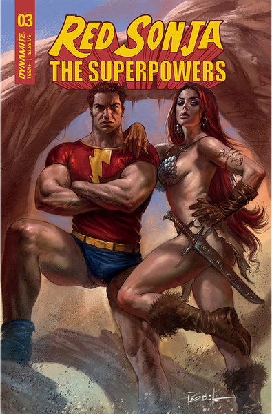 RED SONJA THE SUPERPOWERS #3 CVR A PARRILLO PRE-ORDER 31/03/2021