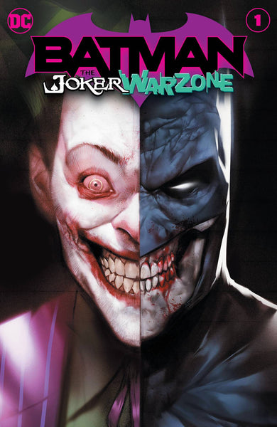 BATMAN THE JOKER WAR ZONE #1, DC Comics (2020)