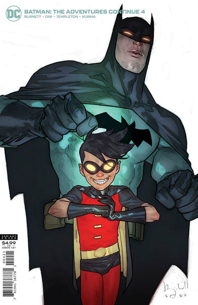 BATMAN THE ADVENTURES CONTINUE #4 (OF 6), BEN CALDWELL VARIANT, DC Comics (2020)