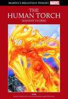 MARVELS MIGHTIEST HEROES #57: HUMAN TORCH JOHNNY STORM, HARDBACK