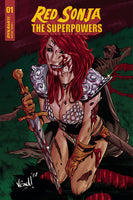 RED SONJA THE SUPERPOWERS #1 FEDERICI (1:10) ZOMBIE VARIANT