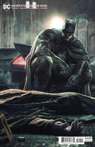 DETECTIVE COMICS #1032, LEE BERMEJO CARD STOCK VARIANT