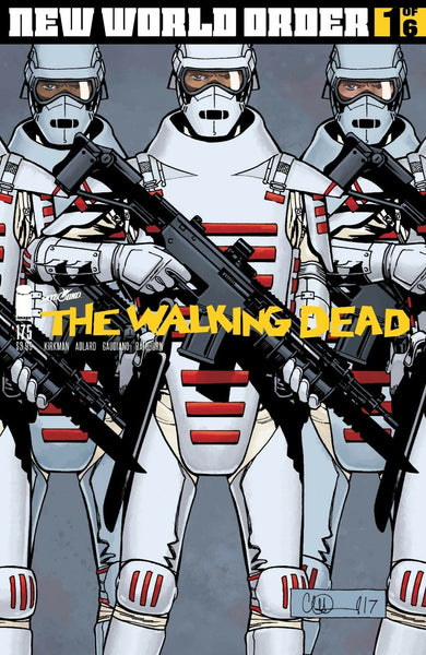 WALKING DEAD #175, COVER A, Image Comics (2017)