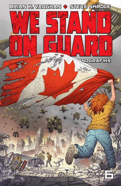 WE STAND ON GUARD #6, New, First print, Image Comics (2015)