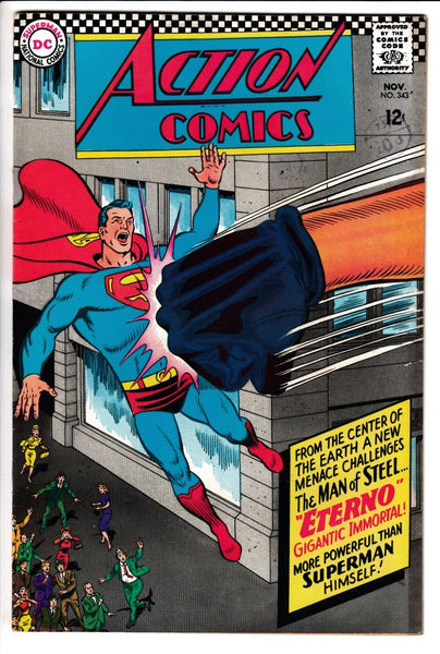 ACTION COMICS #343, DC Comics (1966)