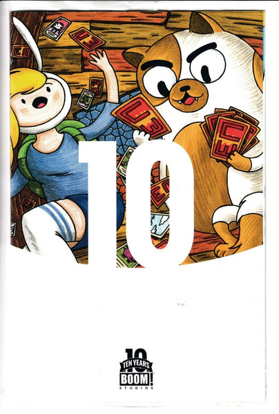 ADVENTURE TIME: FIONNA & CAKE CARD WARS #1, TEN YEARS VARIANT, BOOM! (2015)