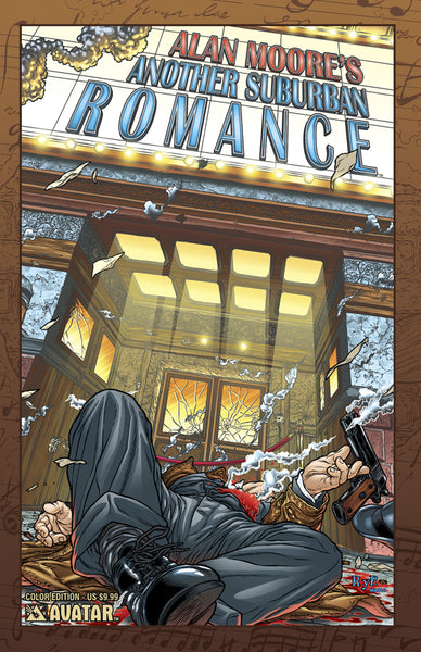 ALAN MOORE ANOTHER SUBURBAN ROMANCE, COLOUR EDITION, New, Avatar (2014)
