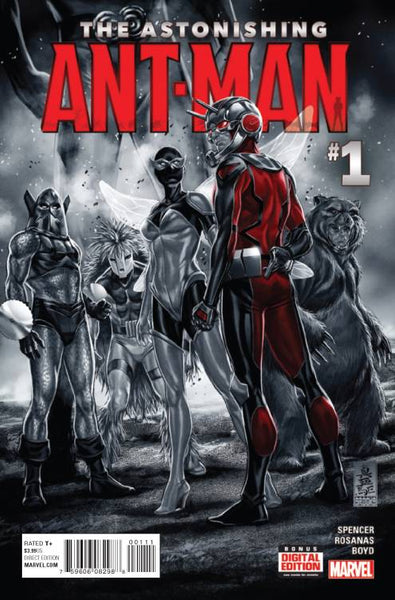 ASTONISHING ANT-MAN #1, Marvel Comics (2015)