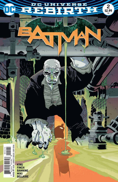 BATMAN #2, TIM SALE VARIANT (2016)
