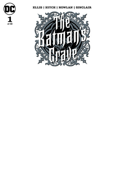 BATMAN'S GRAVE #1 (OF 12), BLANK VARIANT New, First print, DC Comics (2019)