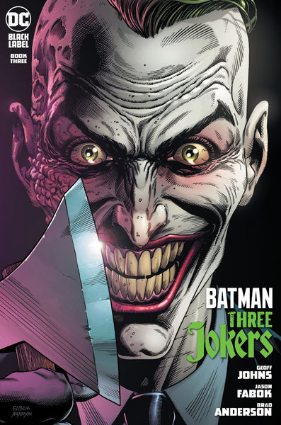 BATMAN THREE JOKERS #3 (OF 3), PREMIUM VAR I MOHAWK, WITH PLAYING CARD