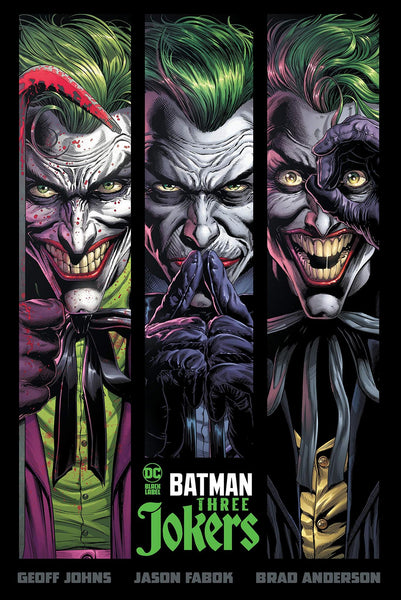BATMAN THREE JOKERS HC HARDBACK, DC Comics (2020)