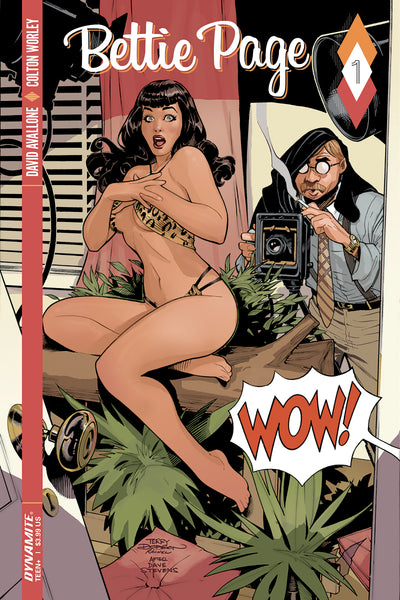 BETTIE PAGE #1, COVER A, DODSON, New, First print, Dynamite (2017)