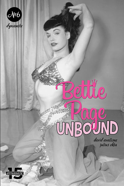 BETTIE PAGE UNBOUND #6, CVR E PHOTO, Dynamite (2019)