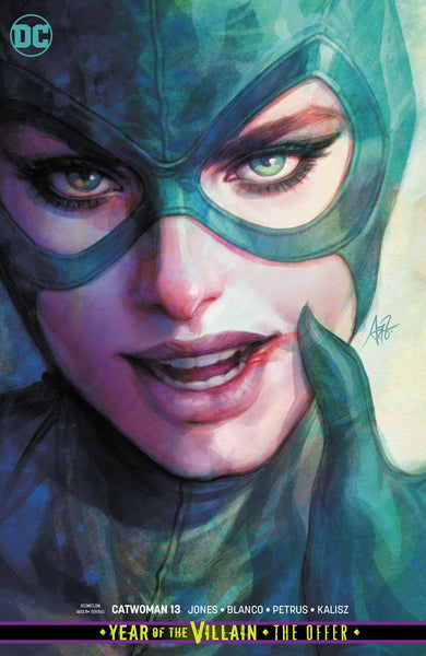 CATWOMAN #13, VARIANT, CARD STOCK COVER, New, First print, DC Comics (2019)