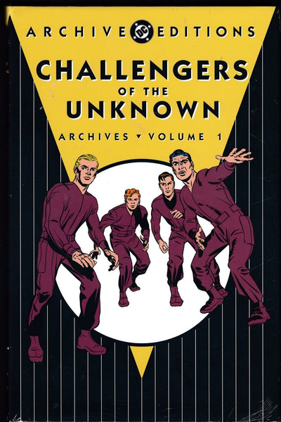 DC ARCHIVE EDITIONS: CHALLENGERS OF THE UNKNOWN VOLUME 1, New, shrink-wrapped