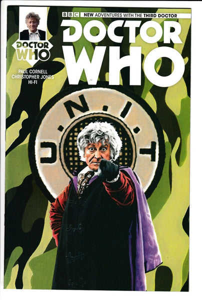 DOCTOR WHO: 3RD DOCTOR #1, PREVIEWS EXCLUSIVE VARIANT, Titan Comics (2016)