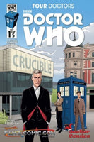 DOCTOR WHO 2015 FOUR DOCTORS #1 (OF 5) JESTER COMICS VARIANT