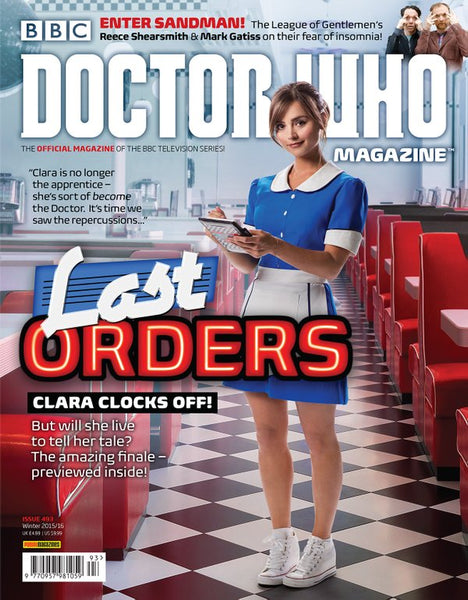 DOCTOR WHO MAGAZINE #493, New, Panini Publishing (2015)