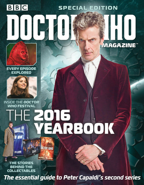 DOCTOR WHO SPECIAL #42: THE 2016 YEARBOOK, New, Panini Publishing (2016)