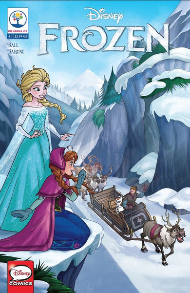 DISNEY FROZEN #1, Joe Books (2016)