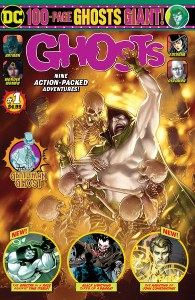 DC GHOSTS GIANT #1, New, First print, DC Comics (2019)