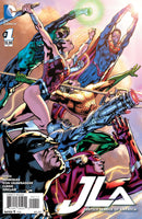 JUSTICE LEAGUE OF AMERICA #1, Main cover, DC Comics (2015)