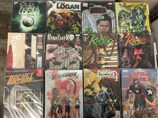 25 MARVEL US COMIC BOOKS