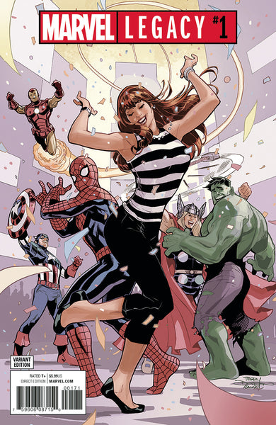 MARVEL LEGACY #1, PARTY VARIANT, Marvel Comics (2017)