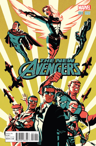 NEW AVENGERS #1, MICHAEL CHO VARIANT, Marvel Comics (2015)