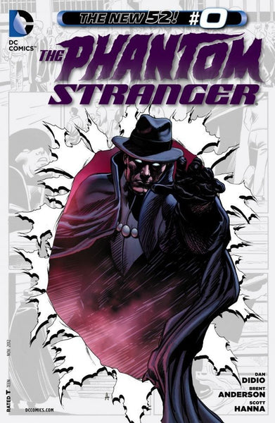 PHANTOM STRANGER #0, DC Comics New 52 (2012)