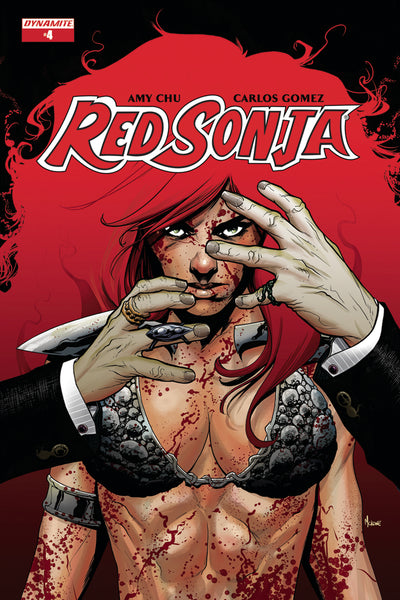 RED SONJA #4, COVER A MCKONE (2017)