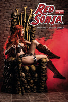 RED SONJA #4, COVER C COSPLAY (2017)