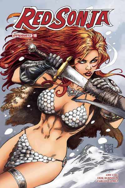 RED SONJA #19, COVER C DUURSEMA (2018)