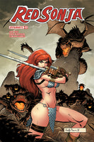 RED SONJA #22, COVER D BROWN, New, First print, Dynamite (2018)