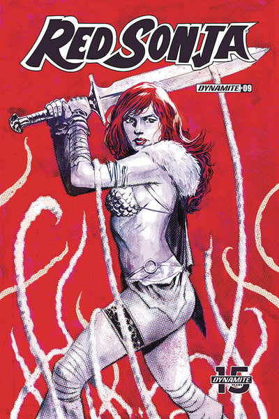 RED SONJA #9, COVER D WALSH, New, First print, Dynamite (2019)