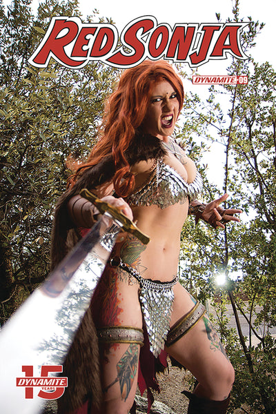 RED SONJA #9, COVER E COSPLAY, New, First print, Dynamite (2019)