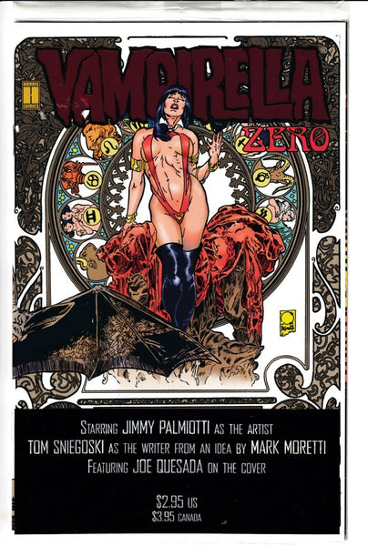 VAMPIRELLA #0 (Volume 2), POLYBAGGED, Harris (1992)